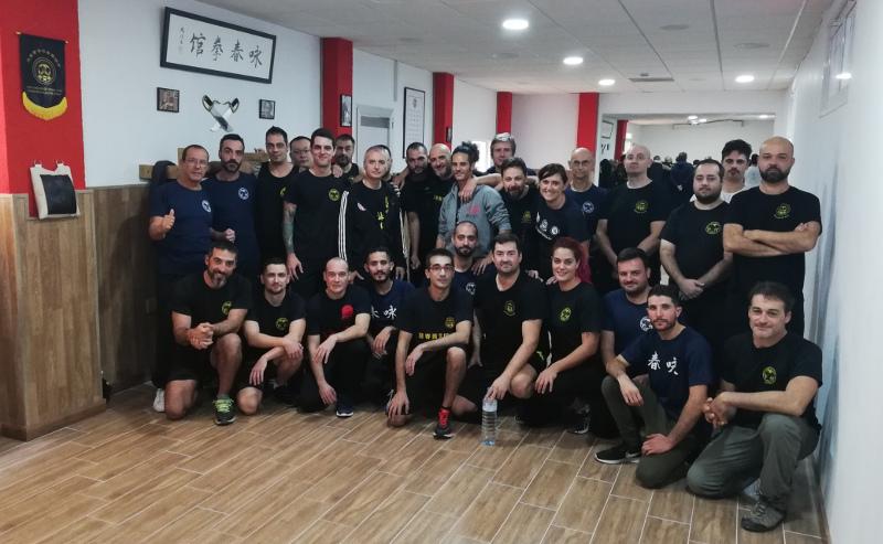 Seminario Sifu Almeria Nov. 2018